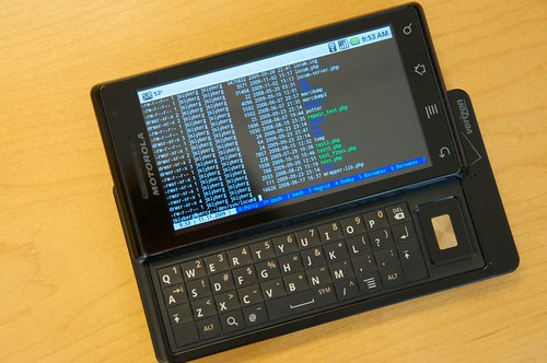 SSH on my Droid