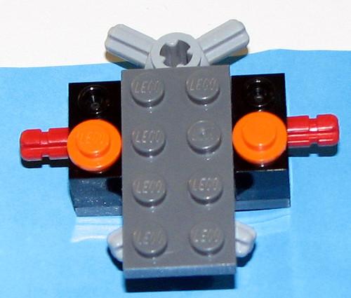 LEGO Atlantis 8056-1 Monster Crab Clash - Body 1