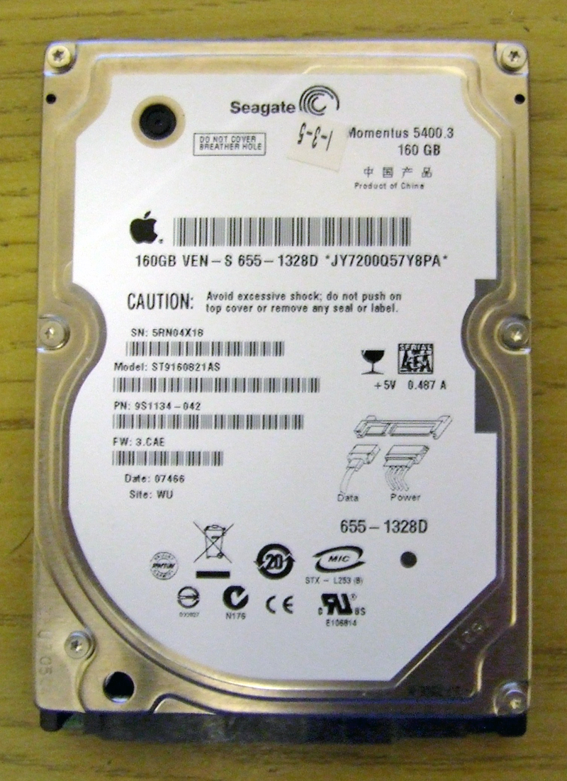 Dead Apple 160gb HD