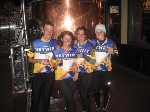 Bike and Brew sporting new Pyramid Jerseys
