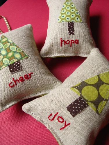 Handmade Ornaments seen on Flickr