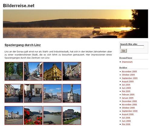 Bilderreise.net Screenshot