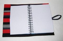 Petulant Patchwork Notebook Cover