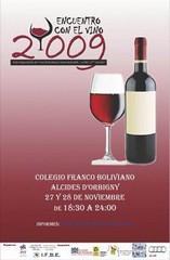 La Paz, Bolivia: Encuentro con el vino 2009