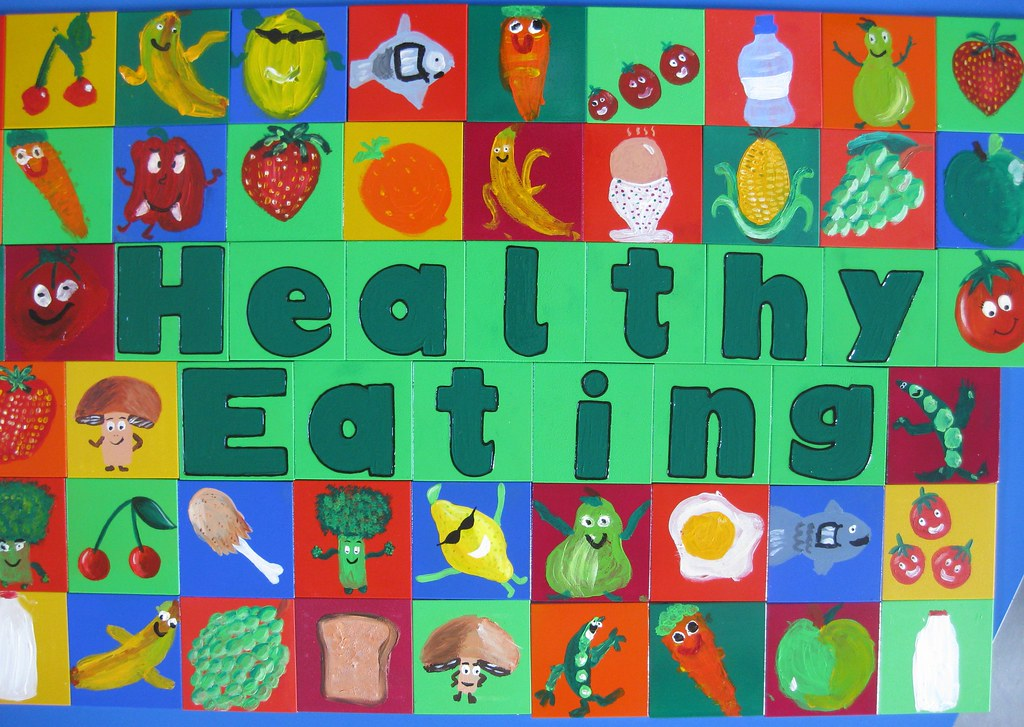 Beaconsfield Primary School, Southall: Healthy eating themed tiles