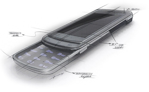 LG GD900 Crystal sketch