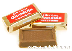 Chocolate Swiss Gianduja Chocolate Squares