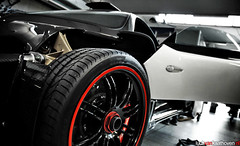 The Making Of One out of Five (Luuk van Kaathoven) Tags: auto red white black car photography awesome automotive cinque zonda pagani fricking luukvankaathovennl carbotanium