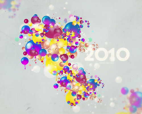 Wallpaper New Year 2010
