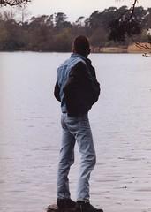Image-03 (leviladz) Tags: blue gay boy guy cowboy boots diesel wranglers hunk guys jeans topless levi denim leigh levis strauss 501 501s redtab wetladz levilad leviladz levilads levild wetladsin501s
