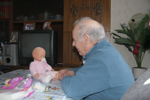 That's not your great-granddaughter!