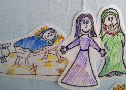 nativity flannel board story