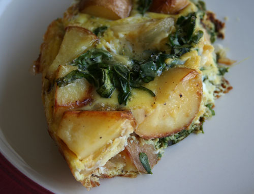 Kale Potato Frittata
