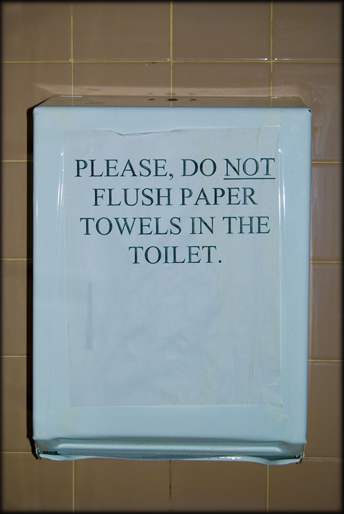 dont-flush-paper-towels