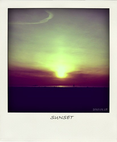 Vintage Sunset (Polariod version)