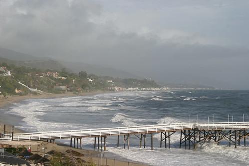 Cove pier