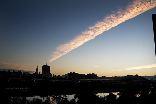 出發前的霞雲 / Before departure