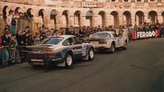 RAC Rally 1984 Buxton (woodytyke) Tags: world uk england sport hotel photo team buxton europe britain derbyshire carlson rally group crescent porsche 1984 scanned benny british mazda rx7 rs fia rac ingvar saeed groupb rallying gruppeb melander rothmans 911sc alhajri