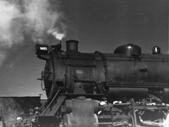 PRR No. 9851 Class N2sa, Santa Fe (2-10-2) type, built for the United States Railway Administration during WWI and drastically rebuilt by the PRR.