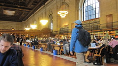 Main reading room NYPL