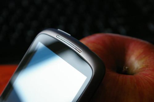 Google Nexus One 的上半身