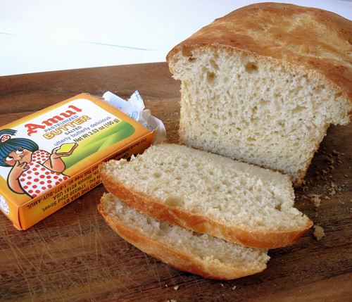 Bread and Amul butter