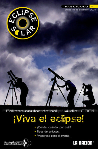 Folleto educativo, Eclipse Anular 2001