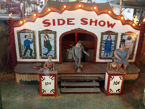 musée mécanique: fairground side show