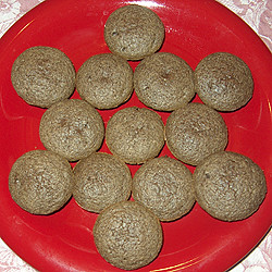 Champa's Ragi Chocolate Chip Muffins