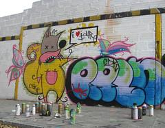 I Love ToUr (TOUR DSGN) Tags: graffiti stencil montana tour tag caps gemma urbano cans medellin bombing graffo throwup cbk parlan tourdsgn