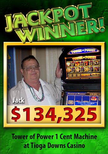 Jackpot! $134,325
