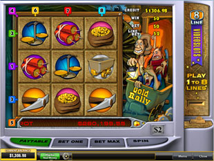 Gold Rally slot game online review