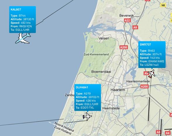 Tracking di voli
