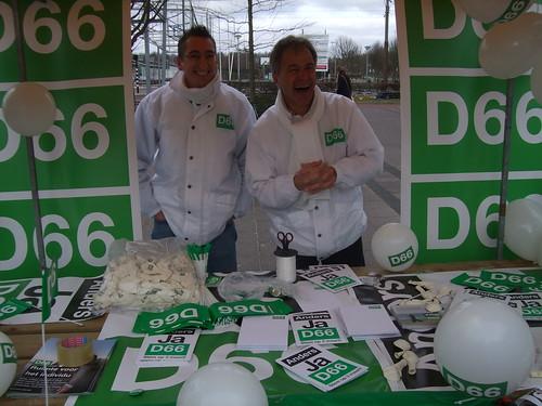 D66 Nieuw-West voert campagne