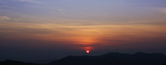 Sunrise (Amal Chandran) Tags: friends trek madikeri feb2010