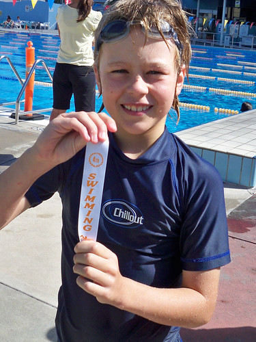 4th in backstroke