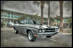 70 Chevelle SS (Bill Strong) Tags: chevrolet florida chevelle explore chevy 1970 hdr chev cocoabeach photomatix 3exp gmfyi ecklers explorefeb182010462