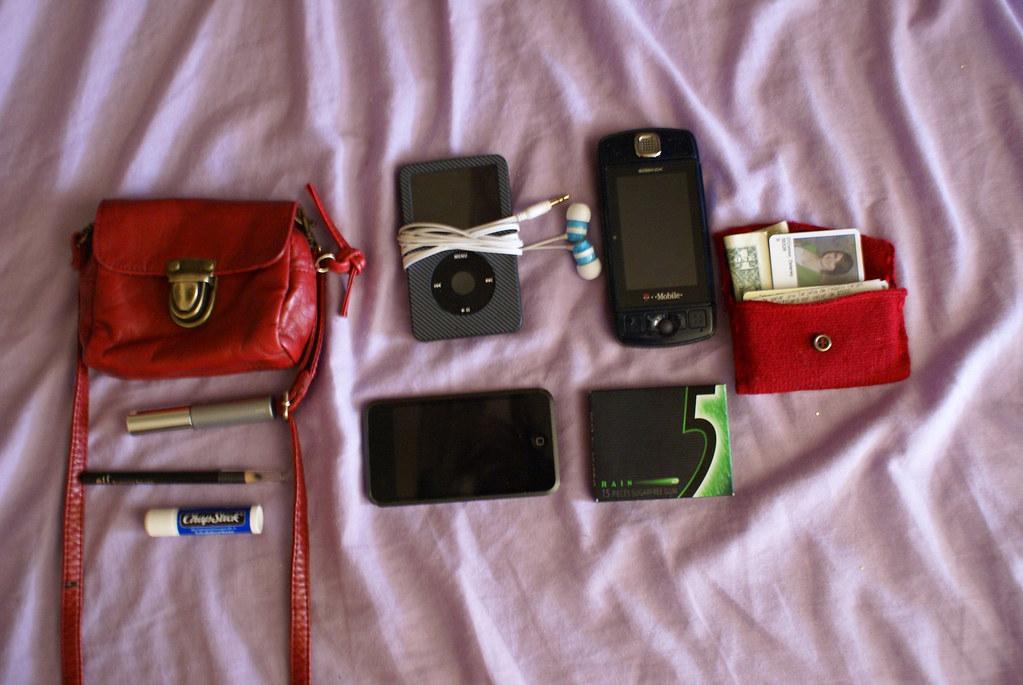 Whats in my satchel.