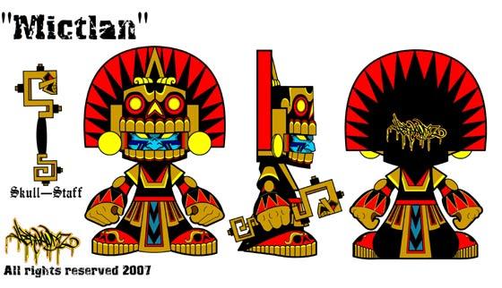 toy vinyl de México