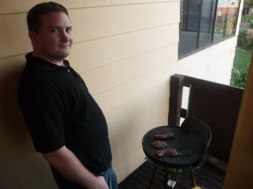 Jon's Visit: Cooking Kangaroo