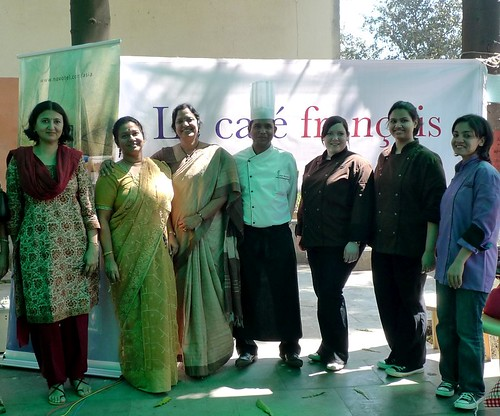 With the teachers at Mumbai University