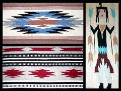 Three Rugs (Oh Kaye) Tags: navajo rugs nativemerican ourdailychallenge