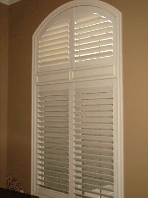 Norman Custom Wood Shutters Arch Top