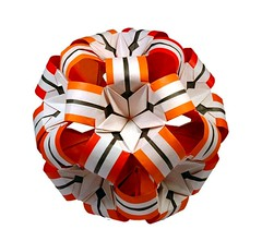 Grafique kusudama (_Ekaterina) Tags: paper origami modularorigami kusudama