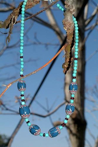 Shevron style beads