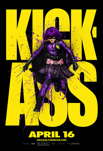 KICK-ASS Outdoor Art: Hit Girl by Lionsgate1