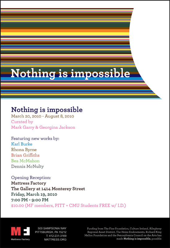 Nothing is impossible - E-Flyer