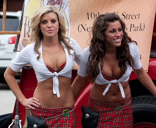 More Tilted Kilt girl shots