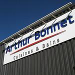 Enseigne cuisines Arthur Bonnet Saint-Martin des Champs