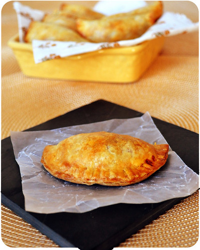 Chipotle Chicken Empanada Single serve- rounded